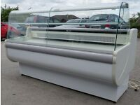 catering equipment / Serve-Over Display Counter (2m) fridge