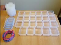 23 small food storage containers