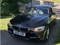 BMW 3 Series 316i Sport 4dr (63 Plate & LOW MILEAGE & LEATHER SEATS)
