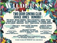 Wilderness Festival X 2 Adult Tickets PLUS Live in Vehicle Pass