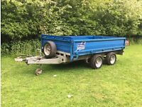 Ifor williams trailer 10' flatbed 3500kg led solid trailor ivor bateson brian james body