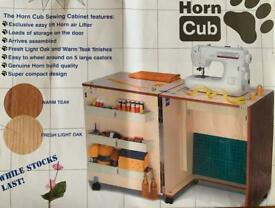 Horn Cub Air Lift Sewing Machine Cabinet Storage Unit