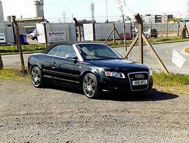 Audi A4 Cabriolet Convertible 2.4 V6 Auto Swap