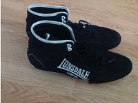 Good condition LONDSDALE boxing shoes size 11