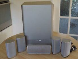 Harman Kardon HKTS-7 - 5.1 Cinema, Surround Speaker System in Silver
