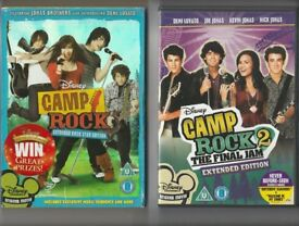 Disney Camp Rock and Camp Rock 2: The Final Jam (Extended Edition) two movie collection