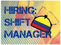 Shift Manager at busy Colombian Market Stall in Kerb Camden Market