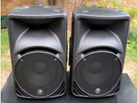 "Mackie C300z 12"" Passive Speakers (Pair) With Mackie Bags! DJ Disco Band PA"