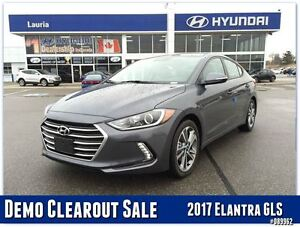 2017 Hyundai Elantra GLS Auto - DEMO MODEL - SAVE BIG FROM NEW