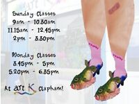 New art classes on Sunday and Monday