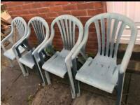 PATIO GARDEN CHAIRS SEATS