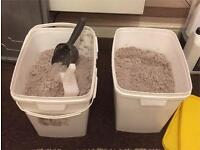 50 kg of silica sand £30