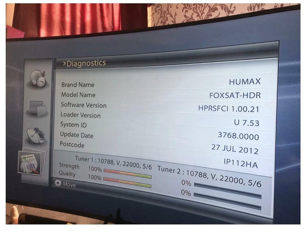 Humax foxsat HDR/320 (320GB) freesat box | in Felixstowe, Suffolk | Gumtree