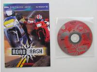 Road Rash, PC game, 1 CD, Electronic Arts