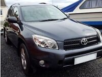 2007 Toyota Rav 4 XTR D-4D In V Good condition LOW Mileage