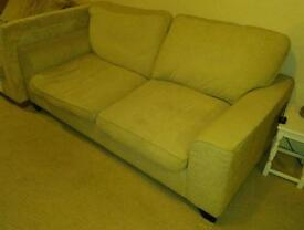 sofa settee 3 seater and single chair