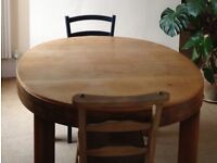 Vintage Extending Dining Table 4-10 People
