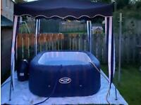 6 Seater inflatable hot tub brand new