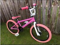 """Girls 20"""" Bmx bike pink"""
