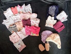 Baby girl clothes 3 - 6 months (106 items)
