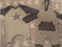 Bundle of up to one month clothes