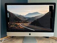 Apple iMac 5K late 2014 27inch 1.12TB Fusion Drive 24GB of RAM i5 3.5GHz