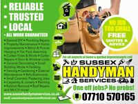 Sussex Handyman Services - Plumbing & General Household Repairs - We cover it - Call 07710 570165