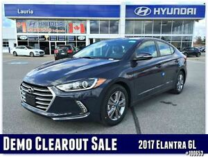 2017 Hyundai Elantra GL Auto  - DEMO MODEL - SAVE BIG FROM NEW