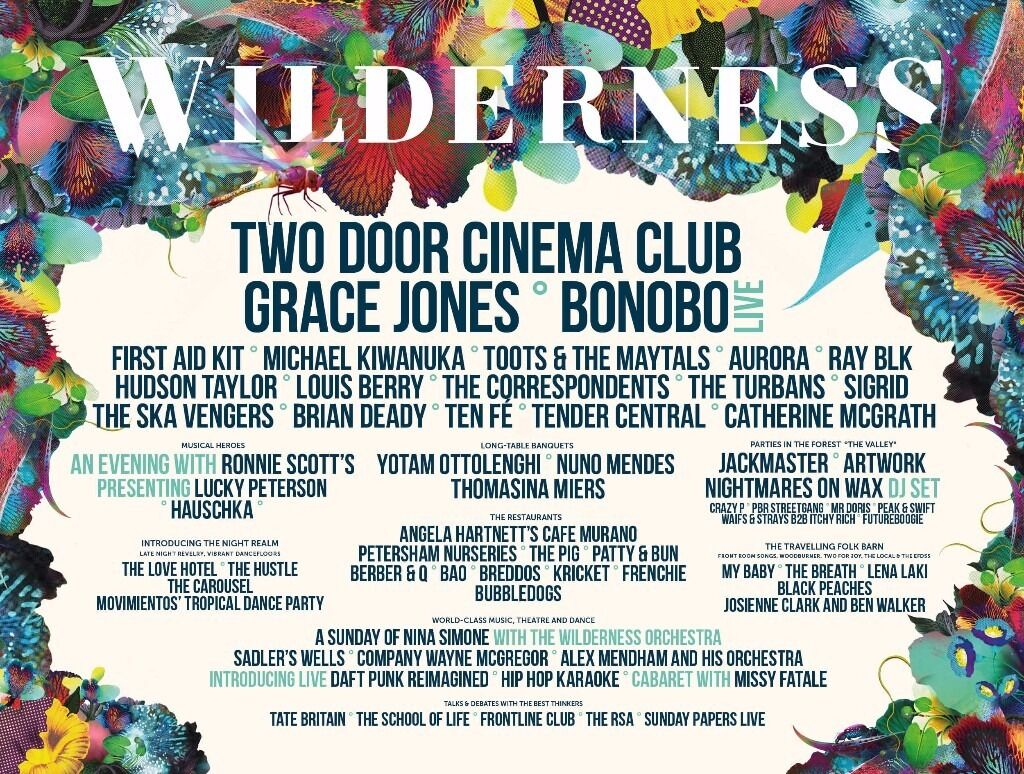 Wilderness Festival 2017 - Family Campsite tickets (2 Adult, 1 child ...