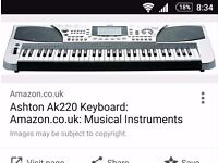 Keyboard piano ashton ak220