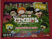 'City Of Zombies' Board Game