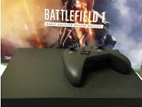 Xbox one S 1TB battlefield 1 deluxe edition