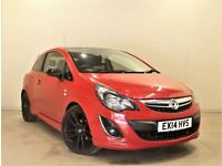 VAUXHALL CORSA 1.2 LIMITED EDITION 3d 83 BHP + SERVICE HISTORY + (red) 2014