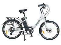 Free Go Wren electric bicycle. 16AH. 30-40 miles range with pedal assist.