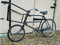BUTCHER'S BIKE in NORFOLK > > IDEAL FOR FILM PROP FARM CAFE SHOP BISTRO VETERAN VINTAGE ANTIQUE