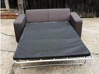 Unused Fabric Sofa Bed - Mocha BARGAIN -Can Deliver--