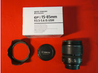 Canon EF-S 15-85 mm f/3.5-5.6 IS USM Lens