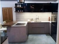 Ex Display Schuller German kitchen, Quartz worktop, Siemens appliances RRP £15,000