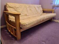 3 seater futon sofa bed
