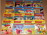 Beano & Dandy Mini Comics / Fun Size Bundle x 16