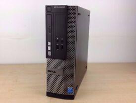 4TH GEN Dell Optiplex 7010 SFF Desktop PC, Intel 3.0GHz G3220 CPU, 8GB, 128 SSD