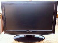 "18""Black Flat Screen Freeview TV"