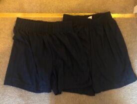Boys Navy PE Shorts