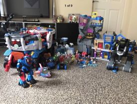 Toys Christmas IMAGINEXT BUNDLE huge