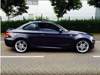 BMW 123d grey coupe