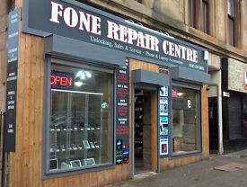 Best Deals!! on iPhone, Samsung, Sony HTC Fone repair Centre Glasgow 53 Byres road Westend