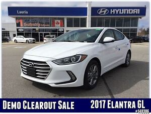 2017 Hyundai Elantra GL Auto - DEMO MODEL - SAVE BIG FROM NEW!