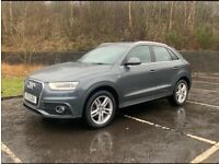 Audi, Q3, Estate, 2013, Manual, 1968 (cc), 5 doors,,, sline ,,, cheapest in uk