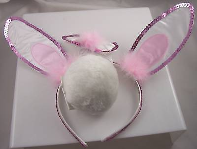 Bunny Rabbit Cute to add to costume Halloween Playboy mardigras easter