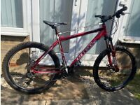 Carrera Centos Mountain bike with spare road tires